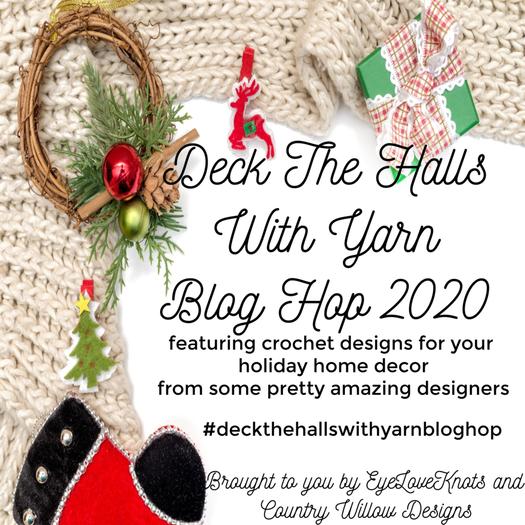 Deck the halls with yarn blog hop 2020