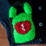 Baby Paramedic (EMT) Sweater Crochet Pattern