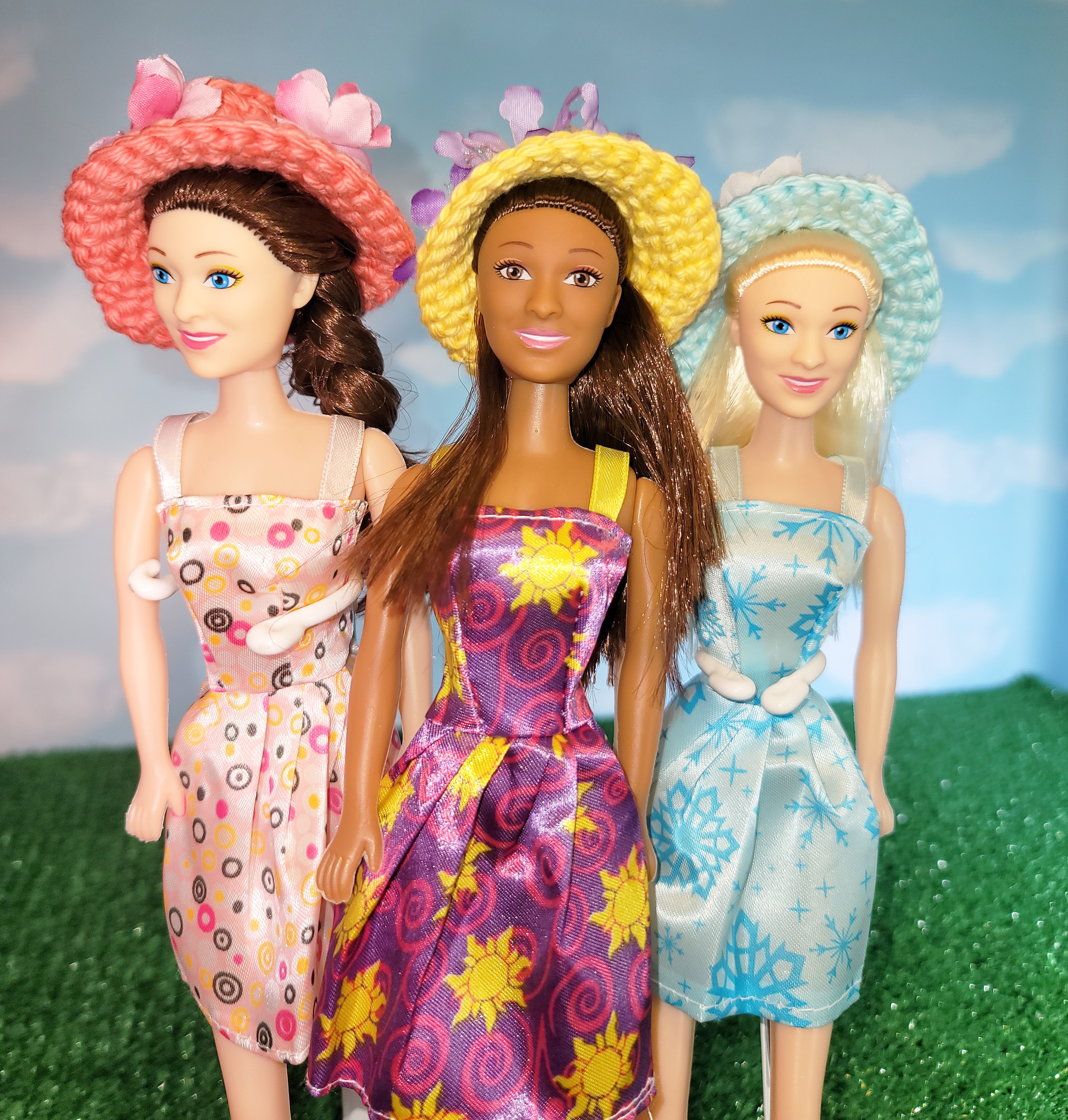 Fashion Doll Easter Bonnet Crochet Pattern