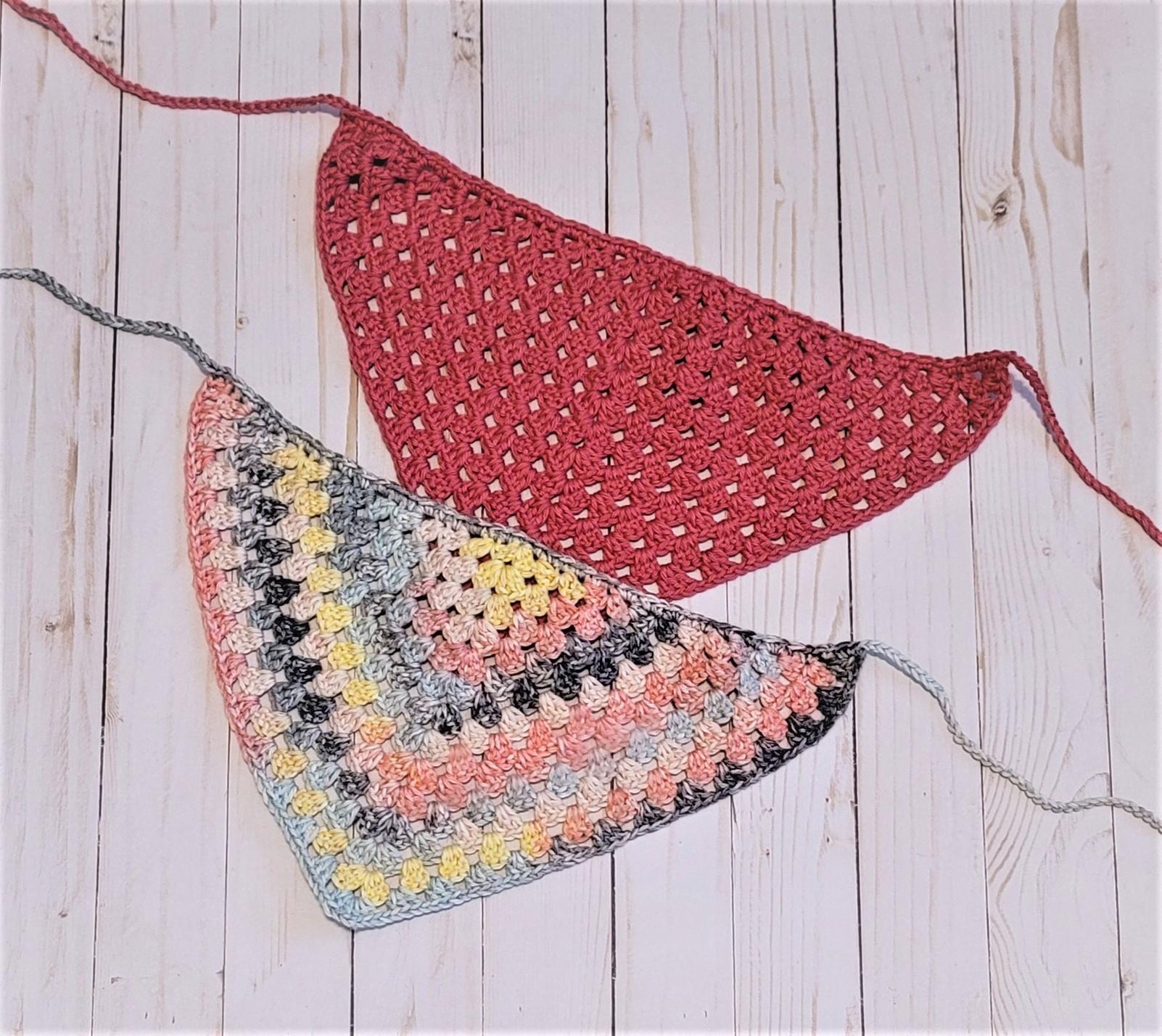 Granny triangle bandana