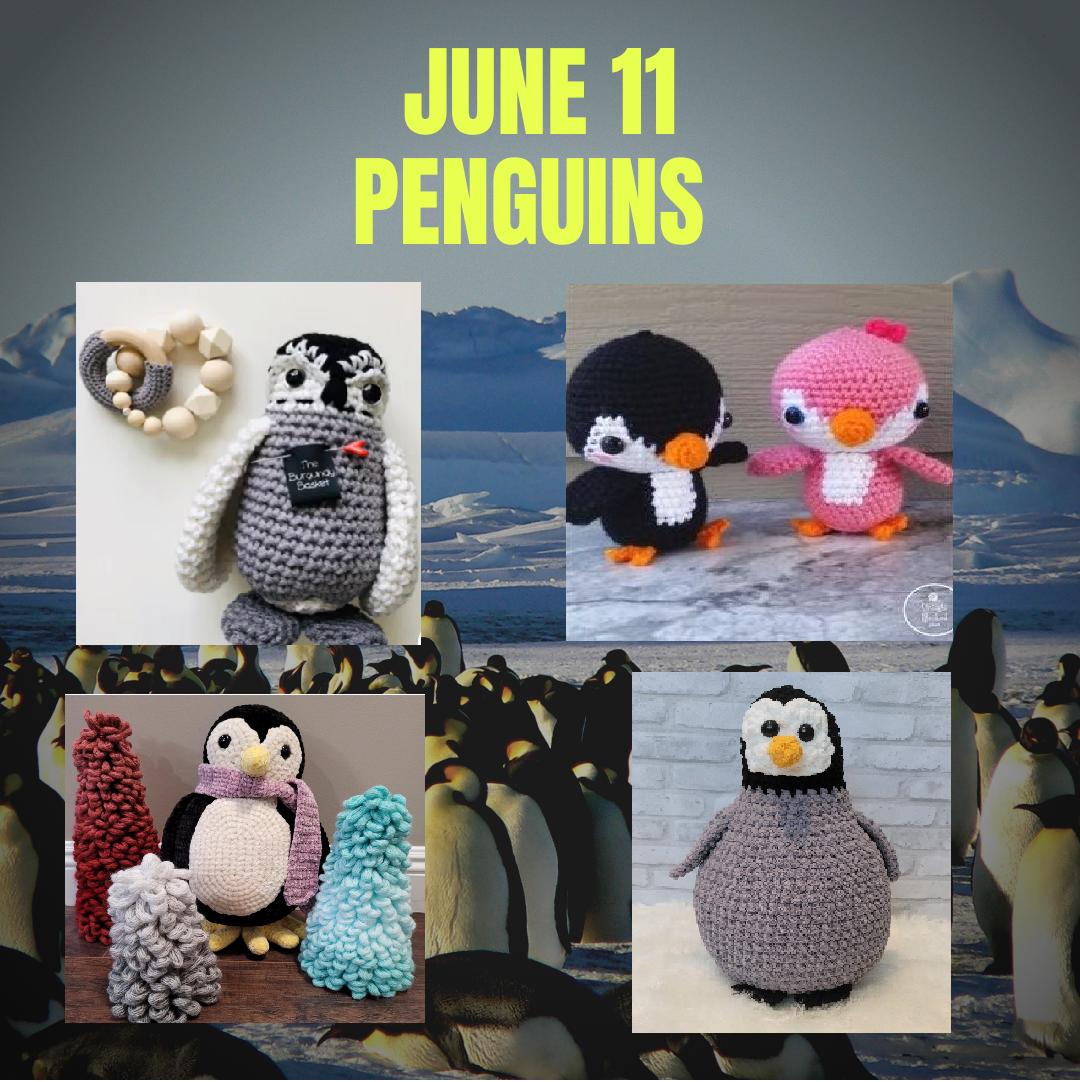 penguin crochet patterns
