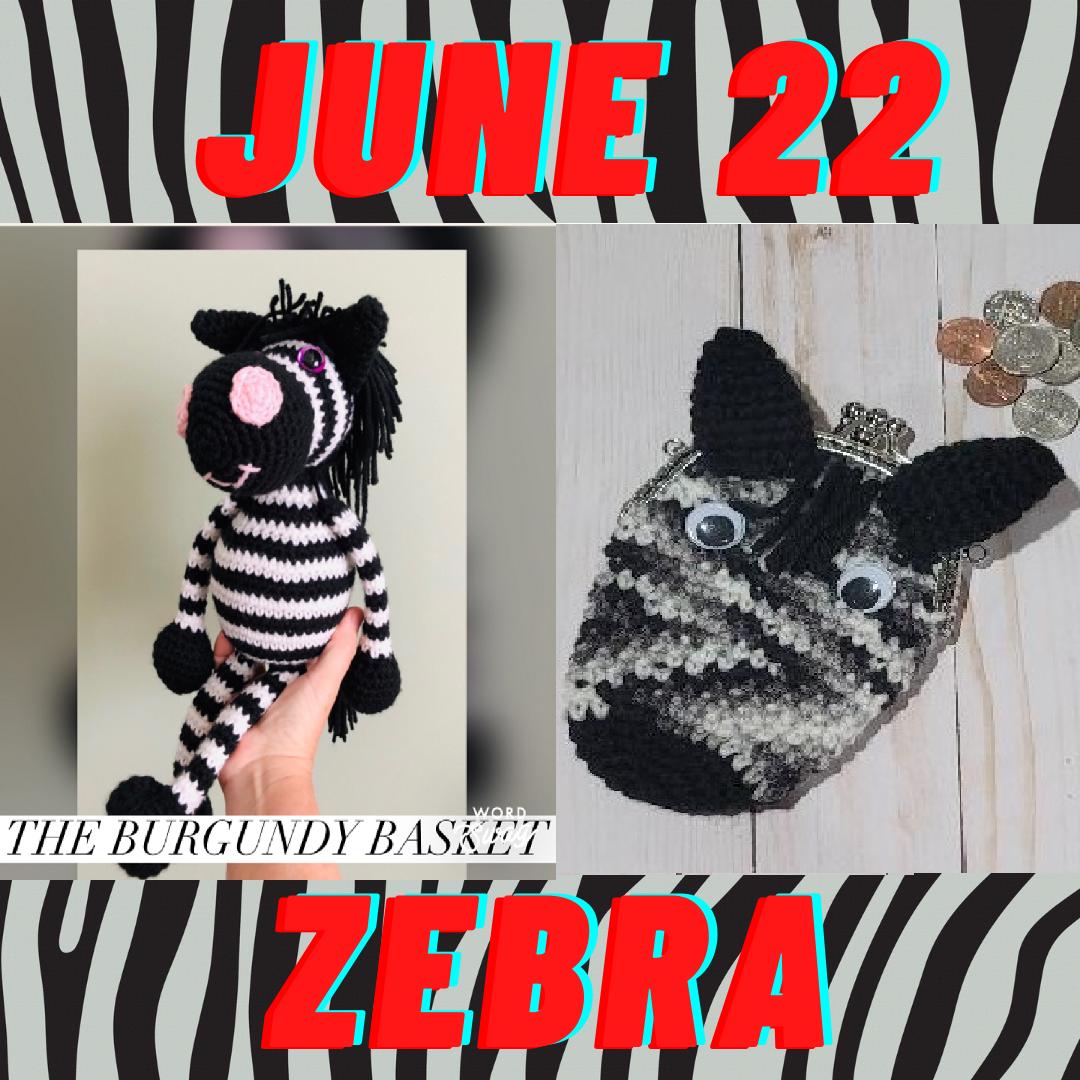 zebra crochet patterns