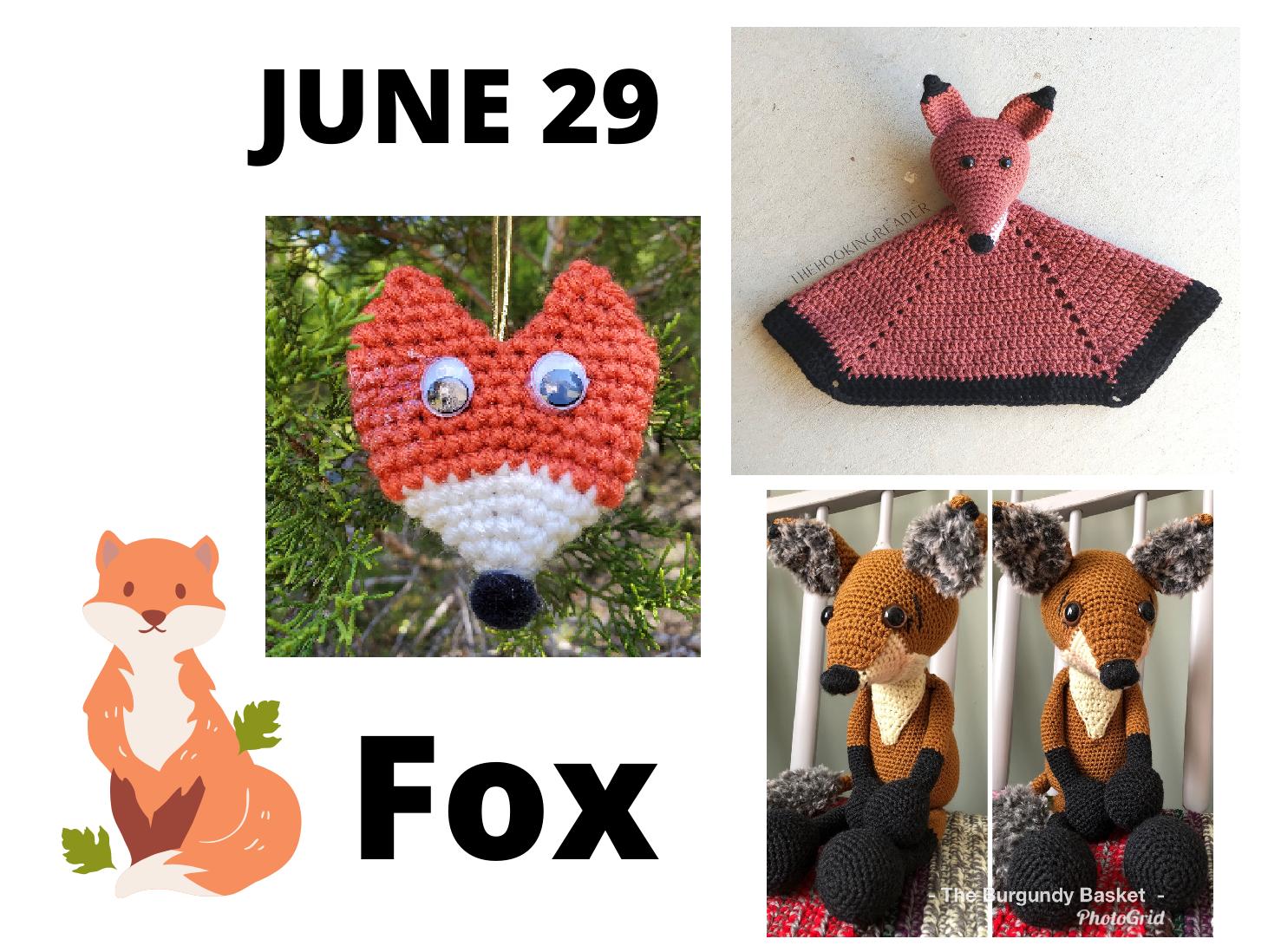 fox crochet patterns
