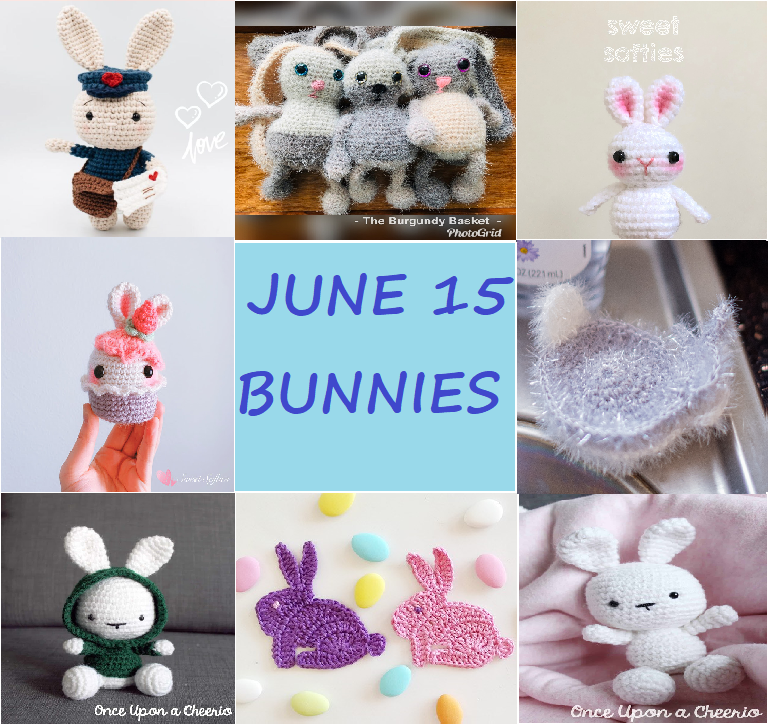rabbit crochet patterns
