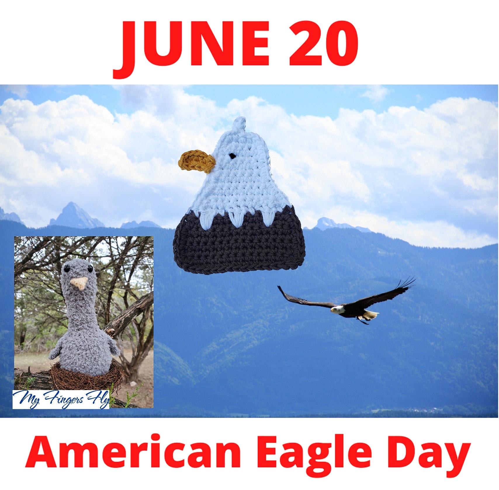 eagle crochet patterns