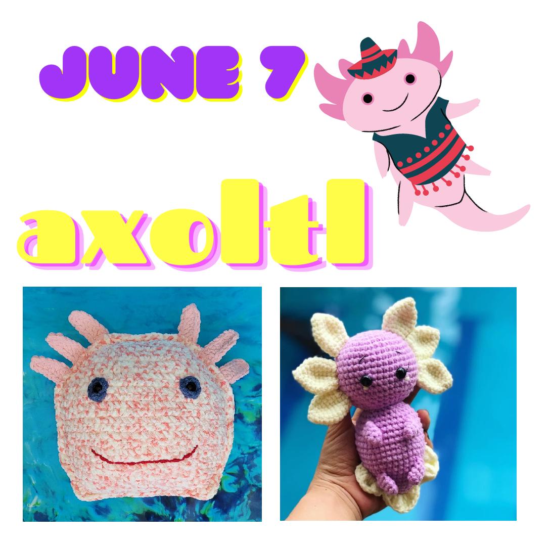 axolotl crochet